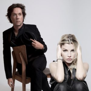 Rufus Wainwright con Emma Marrone